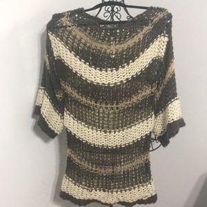 NWT. Oversized Boho Sweater